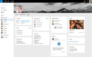 Delve User Profile Page