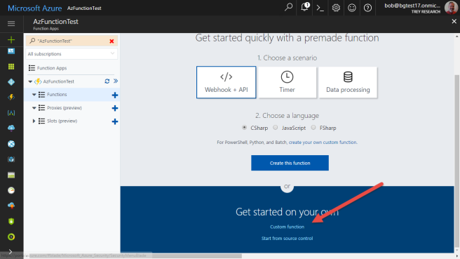 Calling SharePoint CSOM from Azure Functions (Part 1) | Bob German's