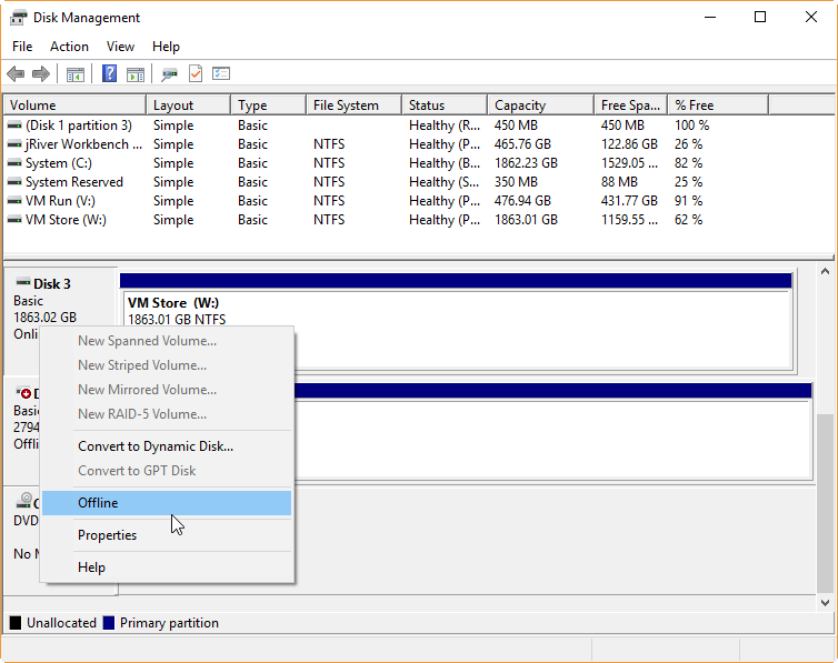 Securely Erase Physical Drives With Dban And Hyper V Vantage Point