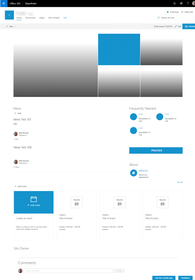 Sharepoint Site Homepage Designs on intranet design, design homepage design, portal design, examples of good design, sharepoint 2013 capabilities, google homepage design, sharepoint intranet examples, office homepage design, sharepoint 2013 bi architecture, sharepoint website examples, twitter homepage design, 2013 best graphic design,