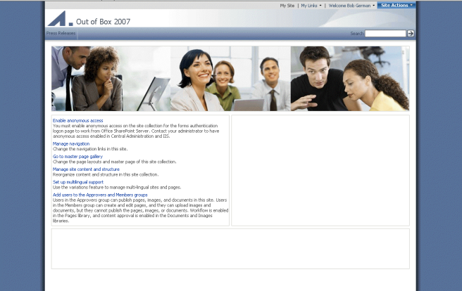 SP2007-PublishingSite